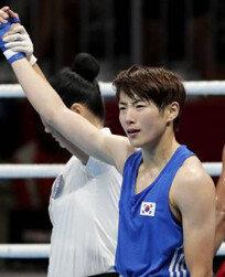 오연지, 여자 복싱 사상 첫 금메달…라이트급 우승