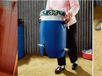 수동식통돌이 세탁기