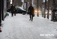 29일 중부·전라도 한때 눈…서울 최고 0도 '쌀쌀'