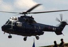 통합화력격멸훈련장의 기동헬기들