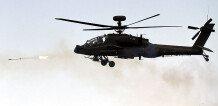 육군, 아파치 가디언(AH-64E)실사격… '北 기갑집단 격멸'