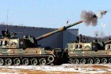 훈련중 사고난 K-9 자주포, 육군 포병의 핵심 전력