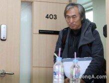 [화보]'성추행 파문' 조덕제, 눈물의 기자회견