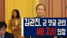 김관진, 군 댓글 관련 \