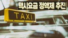 택시요금 정액제 추진