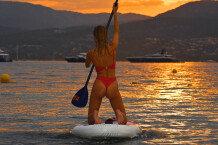 킴벌리 가너, 운동으로 다져진 탄탄한 몸매 뽐내