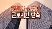 '주 68시간 → 52시간' 근로시간 단축