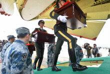 [화보] 본국 돌아가는 6·25전쟁 중국군 유해
