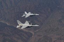 공군, 한미 연합비행훈련 실시…'FA-50·FA-18 전투기' 참가