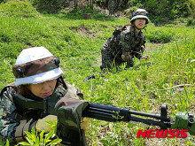 양구 여성예비군 전투체험…'훈련은 실전처럼'