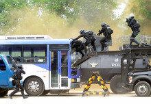 [화보] 경찰특공대, 실전 같은 대테러 훈련 시범