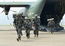 해군·해병대, 신속기동부대 전개훈련 실시