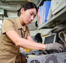 해군 여군 중 첫 기능장 탄생