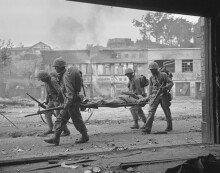 폐허로 변해버린 6.25전쟁 당시 서울 도심
