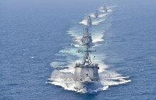 해군, 서해 NLL서 해상기동훈련 실시