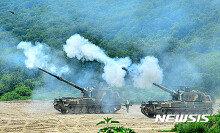 육군 6포병여단, 연천서 K-9 자주포 포탄사격 훈련