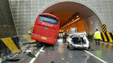 영동고속도로 5중 추돌사고 발생… 4명 사망-16명 부상