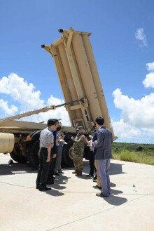 美 괌 사드포대 한국언론 첫 공개…전자파 기준치 '0.007%'