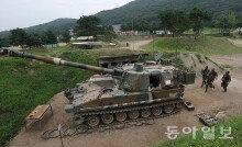 [화보] 北 포격도발 응징 1주년 포병사격훈련