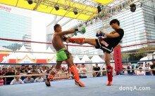 '방콕의 날' 기념…무에타이 챔피언의 시범