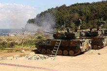 육군 102기갑여단 대공실탄사격 훈련