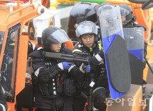 [화보] 목포서 실시된 불법조업 중국어선 단속훈련