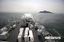 인천해경, 옹진군 해상서 해상종합훈련 실시