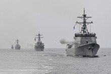 """한미 해군 '2016 불굴의 의지' 훈련…""""北도발 응징"""""""