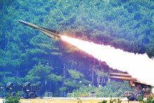 [화보] 2016 방공유도탄 사격대회…'발사되는 호크 미사일'
