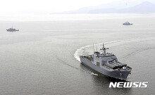 [화보] 경남 진해만서 다국간기뢰전훈련