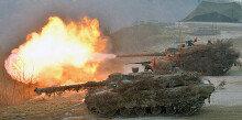 [화보] 육군 기계화 전력의 위용…'불 뿜는 K2 흑표전차'