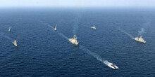 해군, 7전단 대잠전 훈련 해상기동