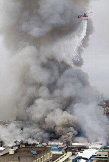 대구 서문시장 11년만에 또 재앙… 점포 670여곳 전소