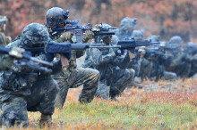 [화보] 포항서 2016 한·미 해병대 연합 전술 훈련