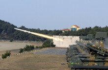 육군, 단거리 대공 유도탄 '천마' 실사격 훈련 실시
