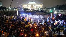 9일 朴대통령 탄핵안 표결…'국회 에워싼 촛불'
