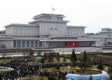 김정일 사망 5주기…참배하는 북한 지도부