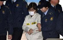 '국정농단' 최순실, 첫 재판에 출석