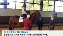 """""""삼성이 사준 말 타고 훈련""""…정유라 獨 승마훈련 영상 공개"""