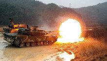 육군, K-1전차 실사격 훈련 실시