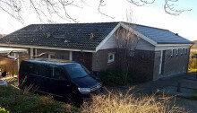 정유라 씨가 숨어 지내던 덴마크 북부 올보르 시 외곽의 단독 주택