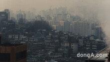 미세먼지가 만든 회색도시 '서울'