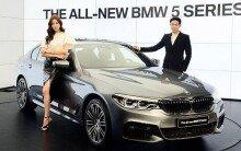BMW 7세대 5시리즈 출시… 고품격 디자인 완성