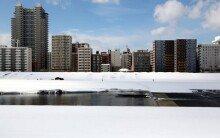 한 폭의 수채화  같은 삿포로 겨울 풍경