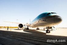[VS포토] 대한항공, 친환경 보잉 B787-9 첫 공개