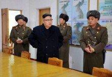 北 김정은, 한미 연합훈련 시작에 北 부대 시찰로 맞불
