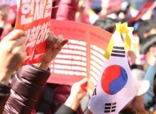 [VR] 박근혜, 헌정 사상 첫 파면 대통령..  환호하는 시민