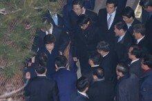 박근혜 전 대통령, 청와대 떠나 삼성동 사저 복귀
