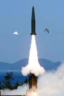 北 전역 타격가능한 크루즈 미사일 요격 장면