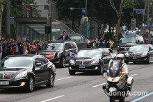 제19대 대통령 문재인 '청와대로 가는길'